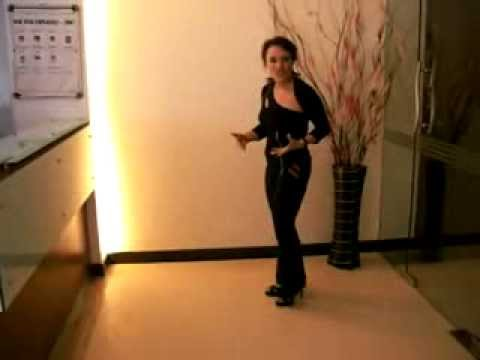 Edie The Salsa FREAK demos 4 inch Amanci Platform Dance Shoe (видео)