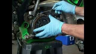 8. Kawasaki kx250 clutch rebuild