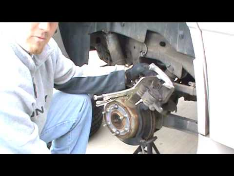 How to REPLACE INSTALL BRAKES and ROTORS GMC YUKON DENALI 2004