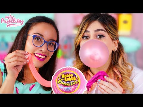 SLIME CON CHICLE | CRAFTINGEEK | MIS PASTELITOS