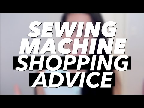 Sewing Machine - My most asked question is what sewing machine I use and how to choose a sewing machine, so I'm providing some tips that I follow when looking at new machines...
