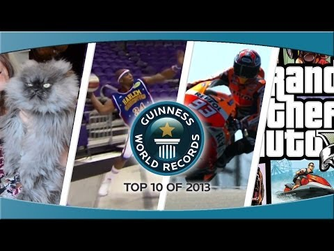 records - Subscribe for more: http://bit.ly/subscribetoGWR Adam gives you his exclusive Top 10 videos straight from inside Guinness World Records HQ - tallest, smalles...