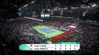Tennis Highlights, Video - Highlights: Dusan Lajovic (SRB) v Tomas Berdych (CZE)