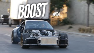The AWD 4 Rotor didn't like 8000 RPM. Zero Pounds of Boost by Rob Dahm