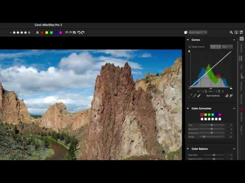 Corel AfterShot Pro 3 overview