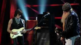 JEFF BECK BAND & BILLY GIBBONS (ZZ Top) - FOXY LADY