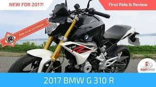 3. 2017 BMW G310 R First Ride & Review - Ride on an A2 Licence