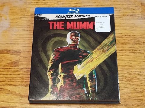 The Mummy (1959) Blu-ray Unboxing