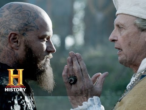 Vikings: Ragnar is Baptized (Season 3, Episode 9) | History