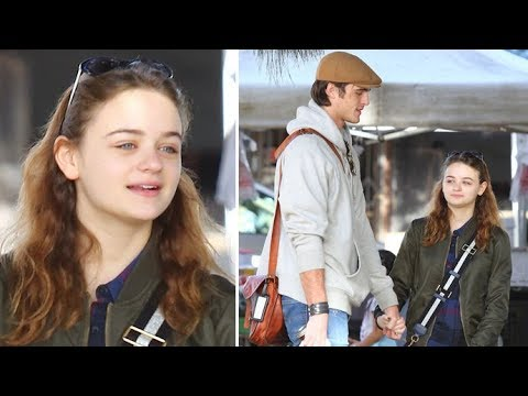 Actress Joey King Holds Hands With Boyfriend Jacob Elord At The Farmers Market