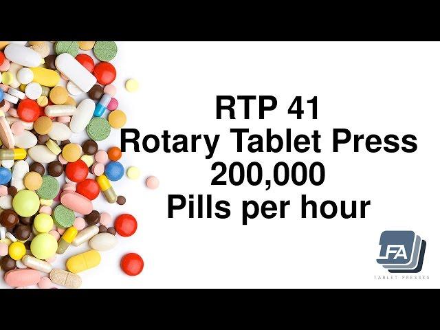 RTP 41 Tablet Press