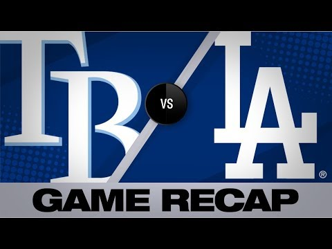 Video: Meadows' HR in 11th propels Rays | Rays-Dodgers Game Highlights 9/18/19