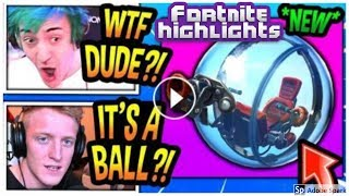 Streamers Using The New Baller Item / SEASON 8 FUNNY MOMENTS | Fortnite Highlights (Twitch Clips)