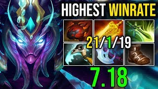 Video REASON WHY [SPECTRE] Is The Most Highest WinRate Hero in 7.18 (60 56%) by Sylar | Dota 2 FullGame MP3, 3GP, MP4, WEBM, AVI, FLV Desember 2018