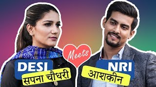 Nonton When Angrezi Babu Meets Desi Mem Feat  Sapna Choudhary   Aashqeen Film Subtitle Indonesia Streaming Movie Download