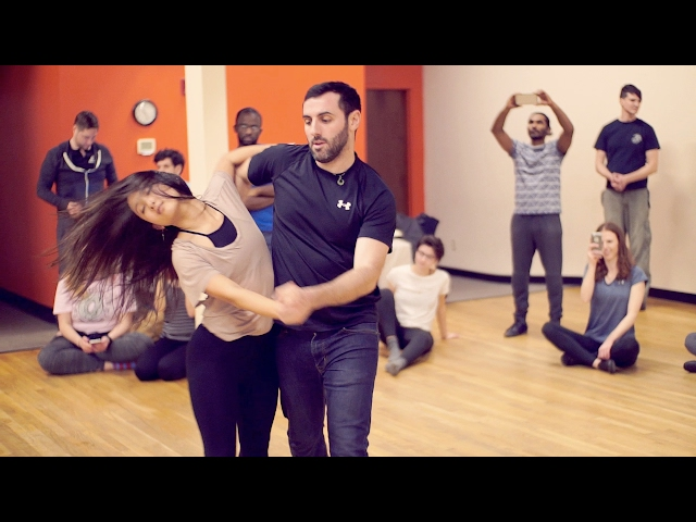 Eddie Bonnell & Emi Murata  to Ed Sheeran - Shape of You - Zouk Atlanta