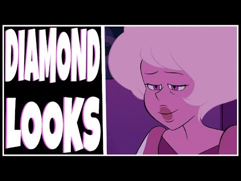 THE DIAMOND'S MAKE UP EXPLAINED, WINGS, LASHES, & MORE [Steven Universe Discussion]
