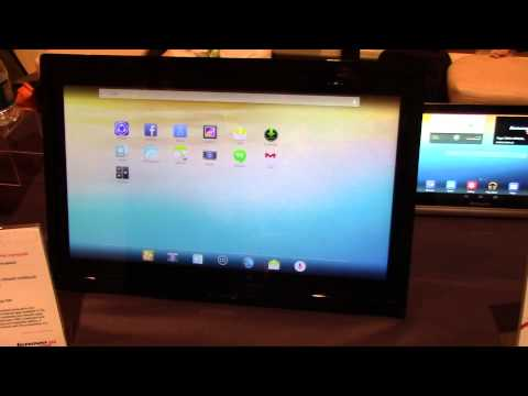Hands on with the Lenovo N308 All-In-One Android tablet PC at CES 2014