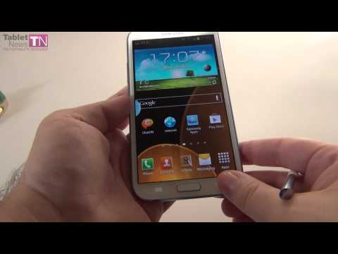 Samsung Galaxy Note II Review (Features, S Pen, Apps) – Tablet-news.com