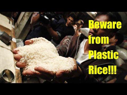 video shock: il riso di plastica e patate prodotto in cina
