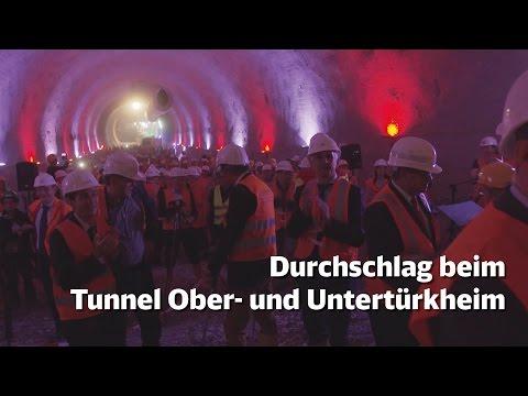 Durchschlag beim Tunnel Ober- und...