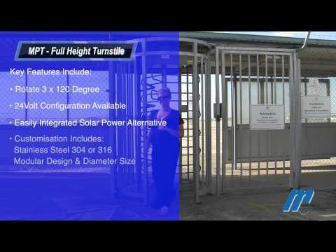 MPT Full Height Turnstile