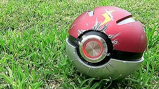 The Real Life PokeBall by Unlisted Leaf