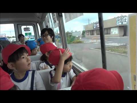 「お泊まり保育 バス車中」(笠間 友部 ともべ幼稚園 子育て情報)