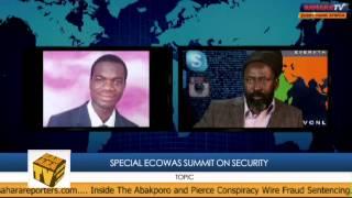 Dake Speaks On ECOWAS Special Summit