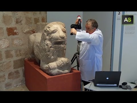 3D technology for one of the biggest archaeological finds in the world, Cástulo's Lion