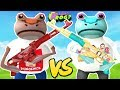 RED MEGALODON FROG TURNS EVERYONE INTO PUNGENCE & CHERU FROGS    Amazing Frog Funny Gameplay Part 57