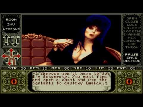 Elvira : Mistress of the Dark Atari