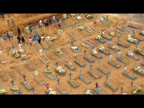 Südamerika: Covid-19 - dramatische Lage in Brasilien  ...