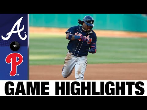Ronald Acuña Jr. homers twice in 8-0 win | Braves-Phillies Game Recap 8/9/20