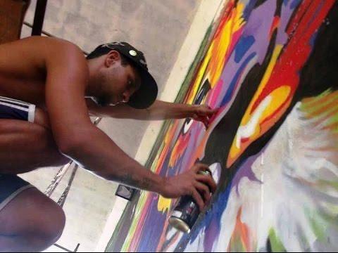 Jornal Regional - Intervenção cultural em Ubaporanga (Graffiti Art)