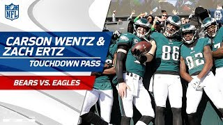 Carson Wentz Fires Big TD Pass to Zach Ertz, Philly Takes the Lead! | Bears vs. Eagles | NFL Wk 12