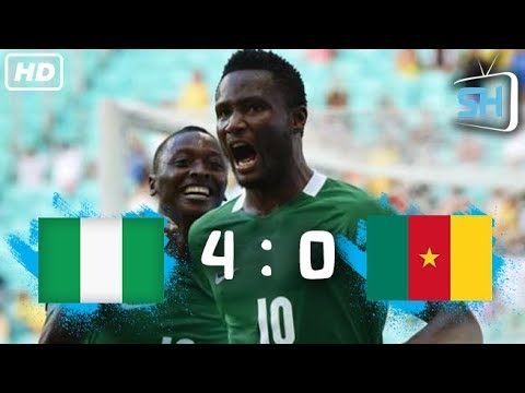 Nigeria Vs Cameroon 4-0 World Cup Qualifiers All Goals And Highlights August 31,2017