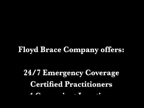 Floyd Brace Company : Thank you for Being a Friend Floyd Brace Company is an industry leader in the prosthetic field. Our practitioners are ready to help fit you with the right prosthetic to help you resume your normal activities.
