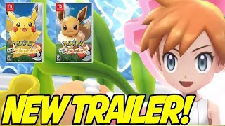 NEW TRAILER! Pokemon Let's Go Pikachu & Eevee New Trailer! Misty, New Gameplay and More! by aDrive