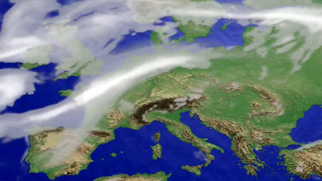 Cloud forecast Europe 2016-07-31
