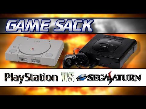 Sony PlayStation VS Sega Saturn - Game Sack