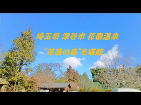 """埼玉県 深谷市 花園温泉 """"花湯の森""""を堪能"""
