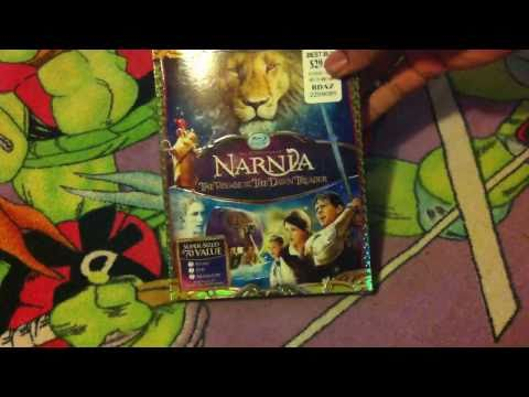Narnia Voyage of The Dawn Trader Blu-Ray Unboxing