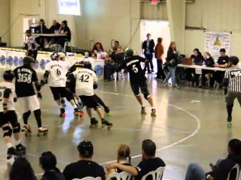 Men's Roller Derby – Battle for the Coast 2012