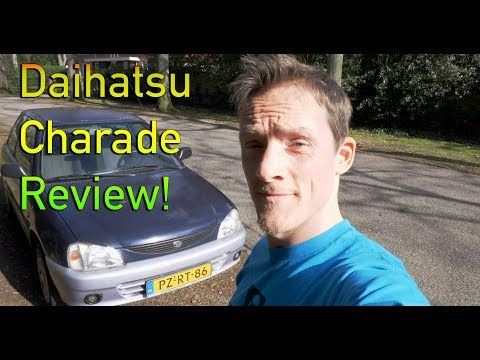 My Daihatsu Charade Review!