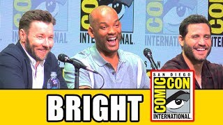 Bright Comic Con panel news & highlights with Will Smith, Joel Edgerton, Noomi Rapace, Lucy Fry, Édgar Ramírez & David Ayer.RELATED VIDEOS--------------Terry Crews Comic Con Pecs Dance ► http://youtu.be/udgr3zcDq2oSuicide Squad Comic Con Panel ► http://youtu.be/n7CyR_4GZ-sPLAYLISTS YOU MIGHT LIKE------------------------Marvel ► http://bit.ly/MarvelVideosDC ► http://bit.ly/DCVideosFox Marvel Movies ► http://bit.ly/FoxMarvelVideosStar Wars ► http://bit.ly/StarWarsVidsMovie Deleted Scenes & Rejected Concepts ► http://bit.ly/MovieDeletedScenesEaster Eggs ► http://bit.ly/EasterEggVideosAmazing Movie Facts ► http://bit.ly/ThingsYouDidntKnowVideosPixar ► http://bit.ly/PixarVideosDisney Animation ► http://bit.ly/DisneyAnimationVideosSOCIAL MEDIA & WEBSITE----------------------Twitter ► http://twitter.com/FlicksCityFacebook ► http://facebook.com/FlicksAndTheCityGoogle+ ► http://google.com/+FlicksAndTheCityWebsite ► http://FlicksAndTheCity.comThanks to Comic Con International http://www.comic-con.org/Set in an alternate present-day where humans, orcs, elves and fairies have been coexisting since the beginning of time, this action-thriller directed by David Ayer (Suicide Squad, End of Watch, writer of Training Day) follows two cops from very different backgrounds.  Ward, a human (Will Smith), and Jakoby, an orc (Joel Edgerton), embark on a routine night patrol that will alter the future of their world as they know it.  Battling both their own personal differences as well as an onslaught of enemies, they must work together to protect a young female elf and a thought-to-be-forgotten relic, which in the wrong hands could destroy everything.The Netflix original film stars Will Smith, Joel Edgerton, Noomi Rapace, Lucy Fry, Edgar Ramirez, Ike Barinholtz, Enrique Murciano, Jay Hernandez, Andrea Navedo, Veronica Ngo, Alex Meraz, Margaret Cho, Brad William Henke, Dawn Olivieri, and Kenneth Choi.  The film is directed by David Ayer and written by Max Landis.  David Ayer, Eric Newman, and Bryan Unkeless serve as producers.   www.netflix.com/bright
