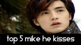 Video Top 5 Mike He Kissing Scenes - Top 5 Fridays MP3, 3GP, MP4, WEBM, AVI, FLV April 2018