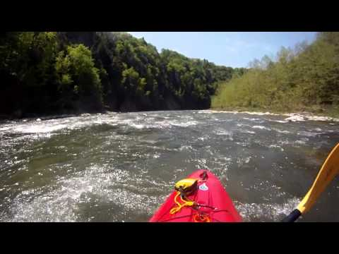 Genesee River Gorge Letchworth State Park – White Water Kayaking