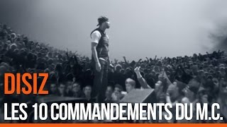 Disiz La Peste - Les 10 commandements du MC