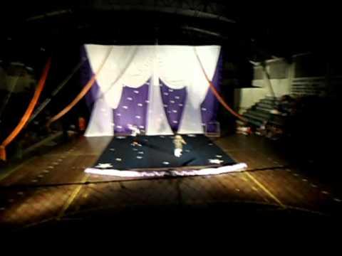 Abertura do circo em Iguatama